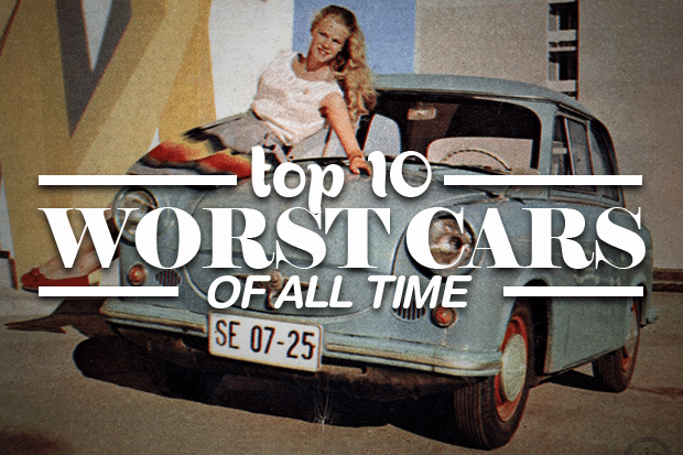 Top 10 worst cars of all time